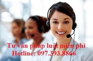 Số điện thoại tư vấn pháp luật