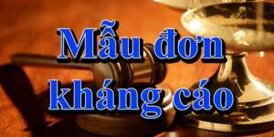 Kháng cáo bản án sơ thẩm vụ án hình sự