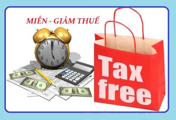 Miễn thuế và giảm thuế xuất khẩu, nhập khẩu