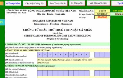 Mẫu đơn xin miễn thuế thu nhập cá nhân