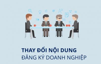 Dịch vụ thay đổi đăng ký kinh doanh của PhamLaw