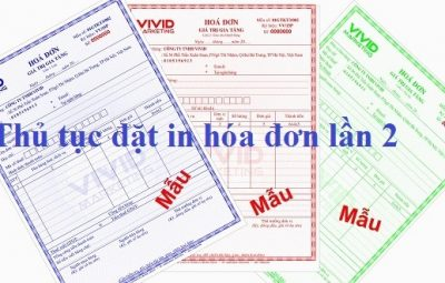 PhamLaw hướng dẫn thủ tục đặt in hóa đơn lần 2
