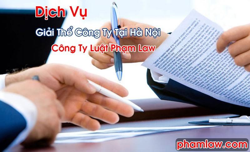 Dịch Vụ Giải Thể Công Ty Tại Hà Nội