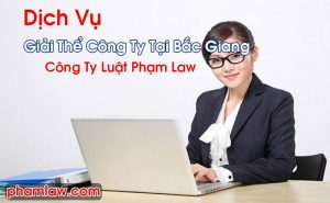 Giải Thể Công Ty Tại Bắc Giang