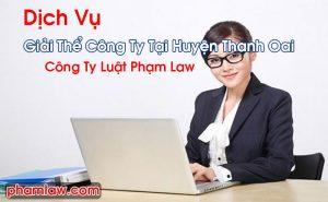 Giải Thể Công Ty Tại Huyện Thanh Oai