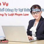 Giải Thể Công Ty Tại Thừa Thiên Huế Đảm Bảo Dịch Vụ Tốt