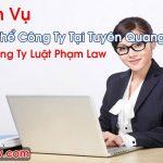 Giải Thể Công Ty Tại Tuyên Quang Trọn Gói Giá Rẻ Đúng Luật