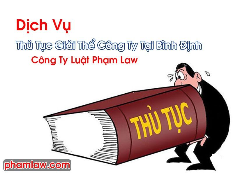 Thủ Tục Giải Thể Công Ty Tại Bình Định