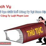 Thủ Tục Giải Thể Công Ty Tại Nam Định Dịch Vụ Uy Tín Nhất